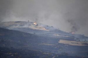 Na Sardínii spôsobili požiare značné škody na poľnohospodárskej pôde.