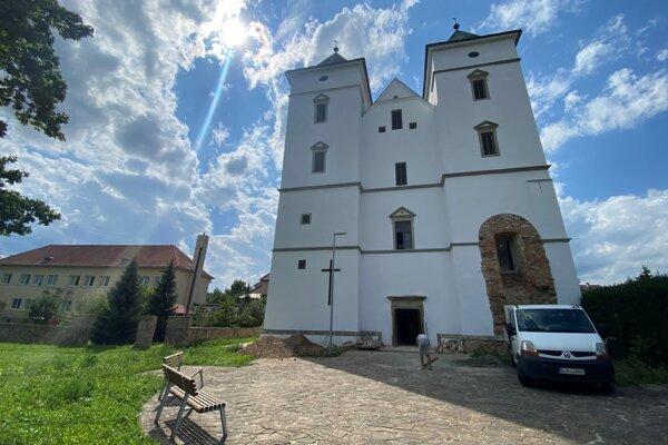 Kostol sv. Žofie v Zborove.