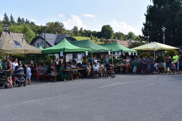 Podujatie prilákalo množstvo návštevníkov.