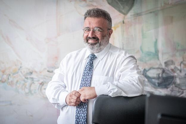 Štefan Dobák, šéf IT sekcie prípravného tímu návštevy pápeža Františka na Slovensku.