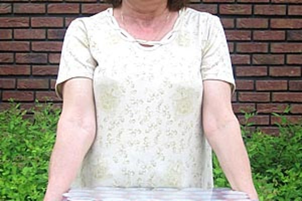 Pre kartón piva si prišla víťazka 10. kola Eva Lahučká zo Zlatých Moraviec.