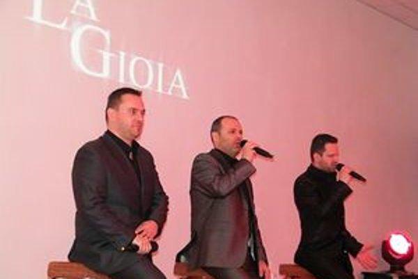 La Gioia bude v nedeľu spievať v Starom divadle Karola Spišáka.