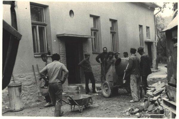 Generálna oprava Kultúrneho domu - rok 1959.