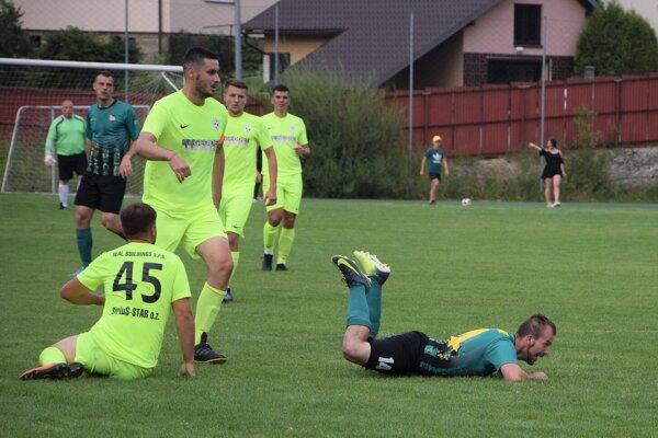 Futbalisti Gbelian konečne bodovali naplno.