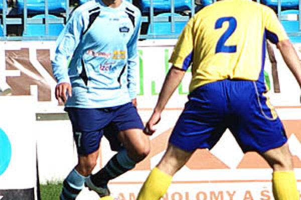 Nitran Matúš Paukner si v nedeľu pripísal ôsmy gól v sezóne.