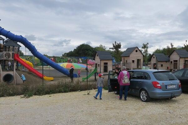 Ekopark Piešťany, detské ihrisko.