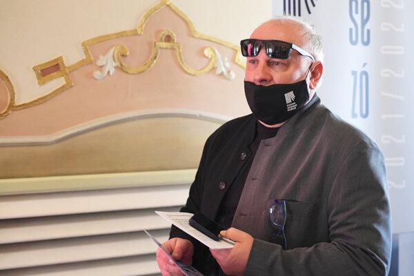 Riaditeľ divadla Ondrej Šoth.