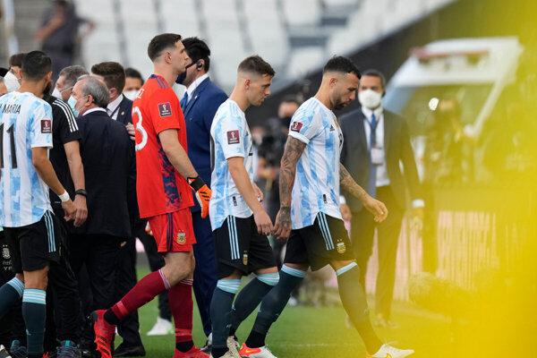 Zápas Brazília - Argentína v kvalifikácii MS vo futbale 2022.