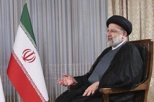 Iránsky prezident Ebráhím Raísí.