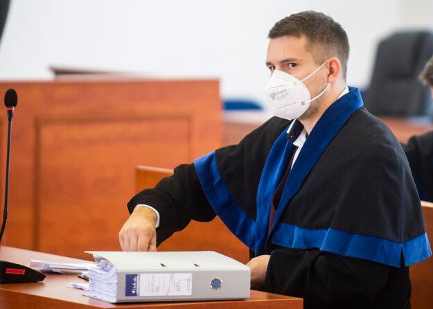 Advokát obžalovaného bývalého špeciálneho prokurátora Dušana Kováčika Erik Magál.