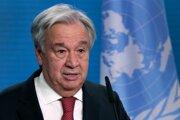 Šéf OSN António Guterres.