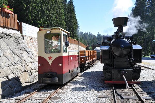 Oravská lesná železnička.