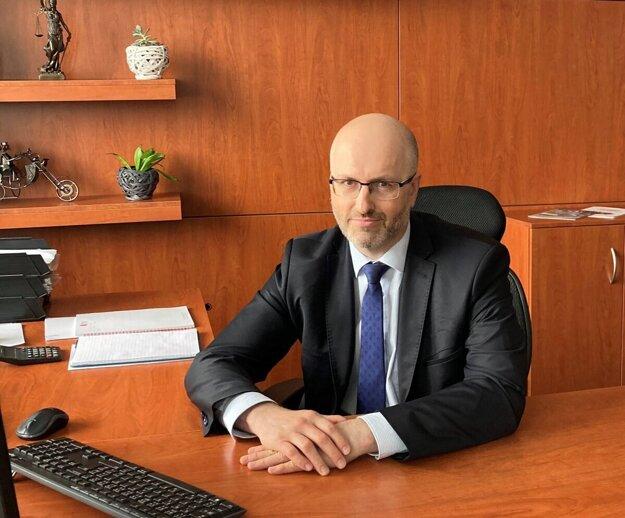 Erik Štefák, generálny riaditeľ Martinskej teplárenskej.