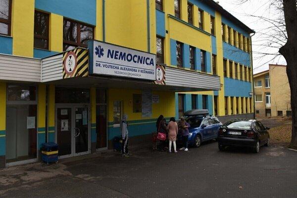 Nemocnica v Kežmarku.