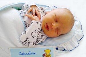 Sebastián Svitok z Nitrianskeho Rudna sa narodil 18. 8. 2021 v Bojniciach