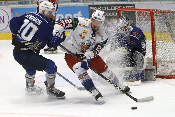 Peter Zuzin proti nováčikovi zo Spiša strelil hetrik a pridal jednu asistenciu.