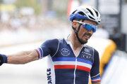 Julian Alaphilippe obhájil titul majstra sveta v cestnej cyklistike.