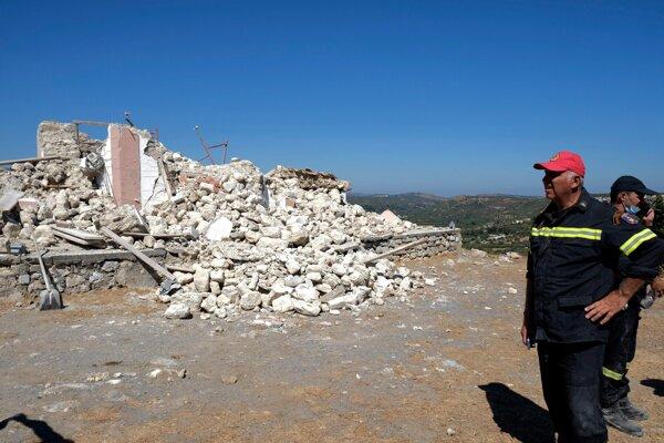 Východnú časť gréckeho ostrova Kréta zasiahlo zemetrasenie.