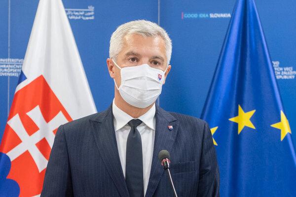 Na snímke minister zahraničných vecí Ivan Korčok.