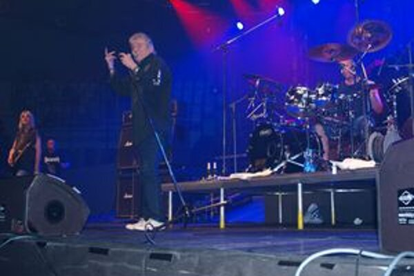 Nazareth s Desmodom v Nitre koncertovali zhruba pred 3 000 fanúšikmi.