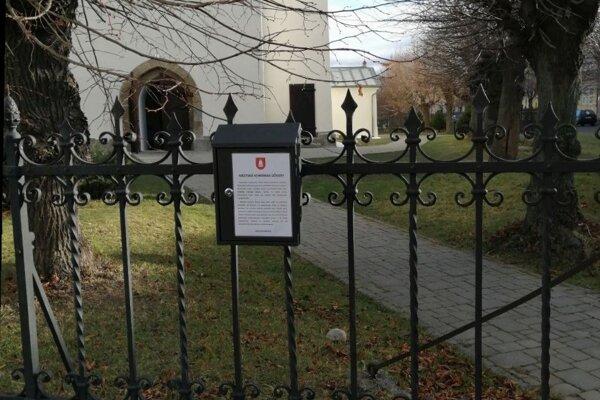 Dve schránky dôvery umiestnili v Spišskej Belej v decembri.