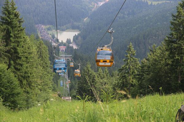 Stredisko Malino Brdo v Ružomberku.