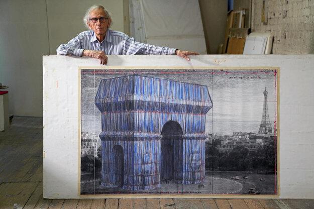 Christo Javacheff z umeleckej dvojice Christo a Jeanne-Claude.