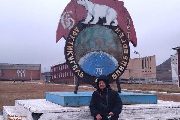 Jozef Weis v Barentsburgu.