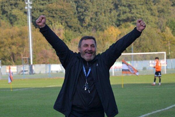 Tréner Rimavskej Soboty Miroslav Kéry
