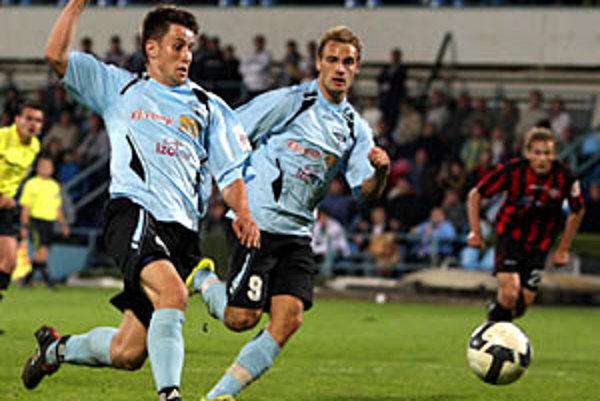 Ján Leško bol netradičným strelcom jediný gólu. Za ním Matúš Mikuš.
