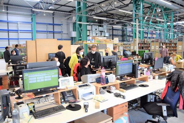 Nové logistické centrum Martinusu vybudovali v bývalom areáli ZŤS Martin.