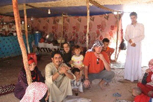 V stane uprostred beduínskej rodiny.