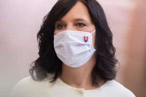 Ministerka investícií Veronika Remišová.