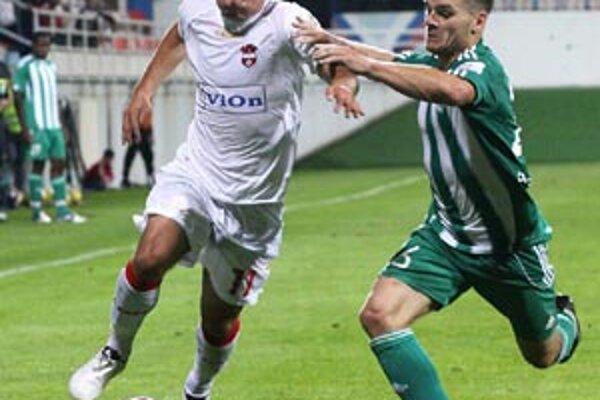 Matej Náther rozhodol duel s Prešovom.