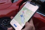 Google mapy odhadli časový rozdiel na oboch trás v rannej špičke na 19 minút.