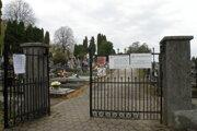 Cintorín Prievidza. ilustračné foto.
