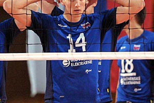 Matej Hukel prispel v Nitre k dvom víťazstvám Slovenska nad Veľkou Britániou.