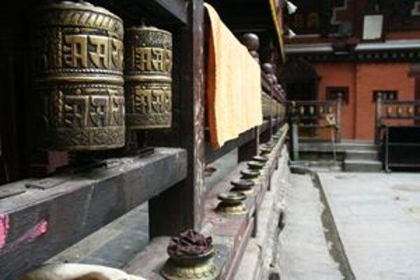 Modlitebné valčeky v budhistickej tradícii.