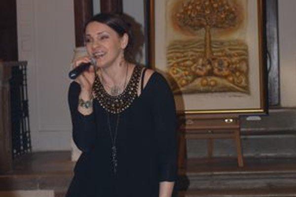 Mishu akustika v nitrianskej Synagóge uchvátila, rada by sa sem vrátila a koncertovala v nej.