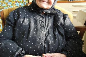 Najstaršia obyvateľka, akú kedy Čakajovce mali, si pospomínala na život v dedine.