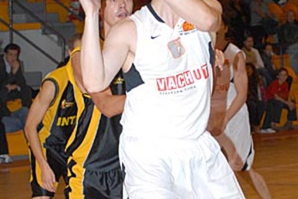 Branislav Tomek bol v piatok najužitočnejším hráčom Nitry.