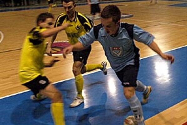 Futsalisti MFsK vydreli tri body proti Žiline.