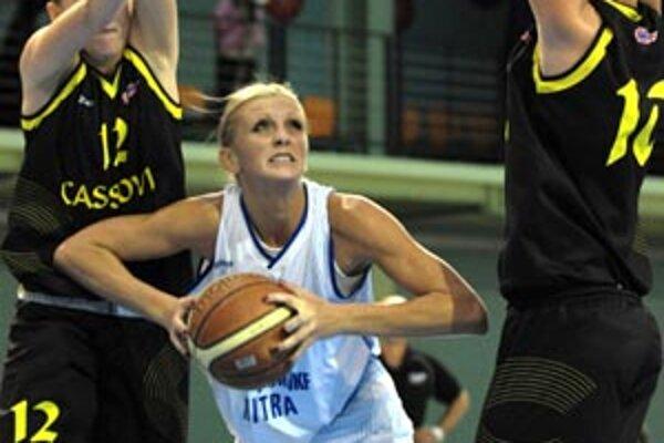 Legionárka z Čiernej Hory Slavica Jeknič sa vrátila do tímu po vybavení vízových záležitostí a prispela k výhre v Prešove.