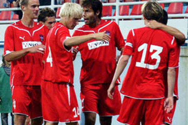 O víťazstve vionistov rozhodol gól kapitána Kuračku (13).