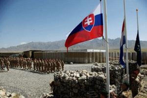 Nástup slovenskej jednotky v Afganistane.