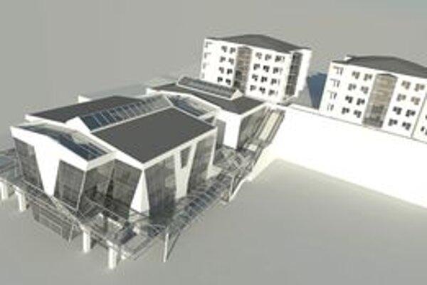 Tento komplex by mal vzniknúť v centre mesta po zbúraní chátrajúceho Orbisu. Svoje priestory tu možno nájde aj hlavná pošta.