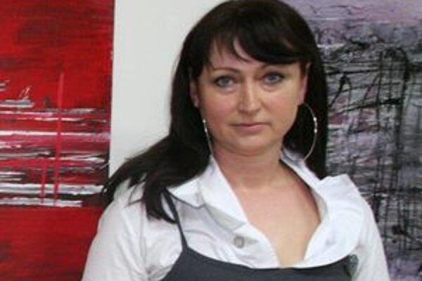 Doménou Márie Šefferovej z Nitry je abstraktná maľba.