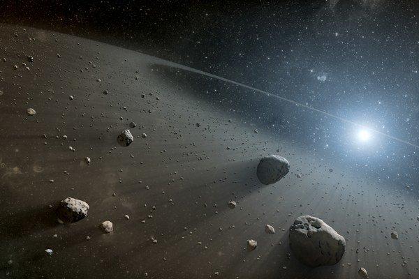 V blízkosti Zeme pozorujeme momentálne 13-tisíc objektov.