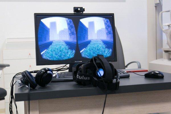 Klinické využitie virtuálnej reality Oculus Rift.