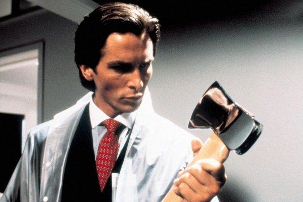 Christian Bale vo filme Americké psycho.